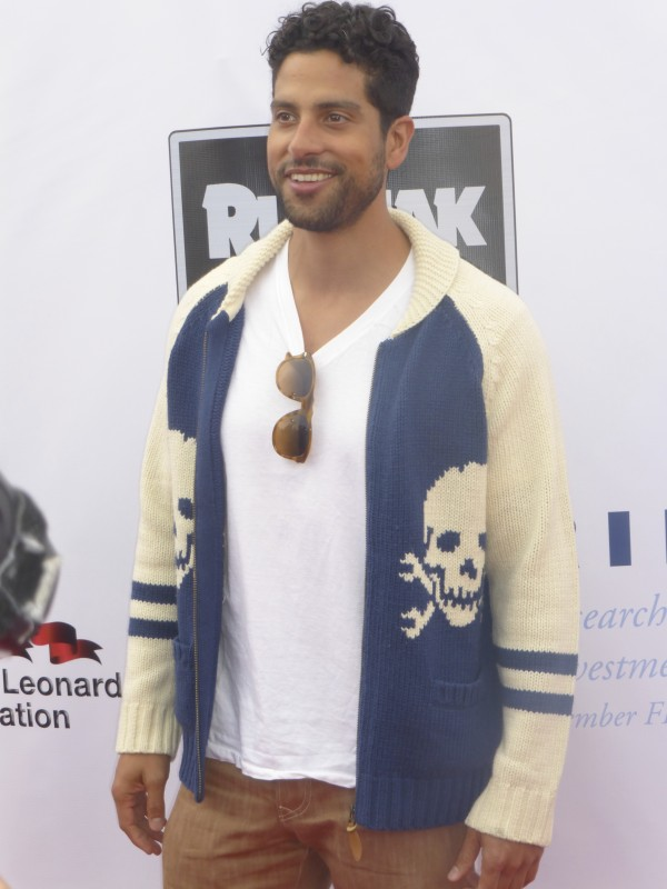 Adam Rodriguez on the red carpet in santa monica
