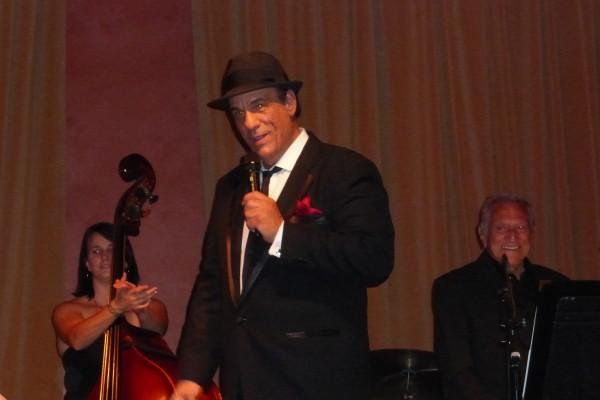 Robert Davi Sings Sinatra at the Vibrato Grill Jazz Club Los Angeles