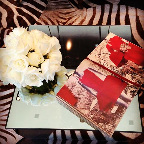 White Roses, Open Book Couture Lanvin Malibu cozy beach luxury decor