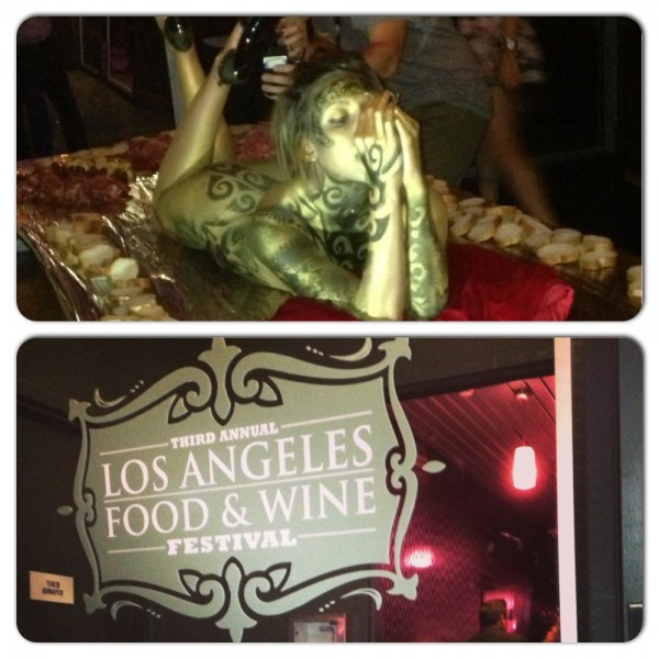 Los Angeles Food & Wine Festival at the Watermark Tower. The festivities in full culinary display!