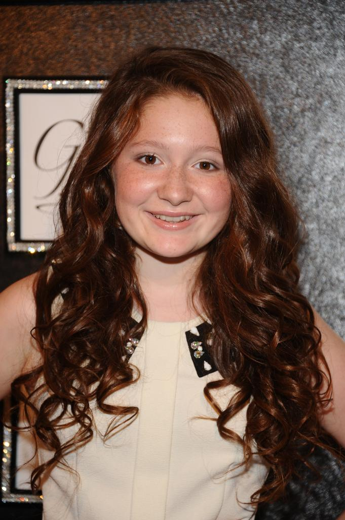 Emma Kenney of Showtime's Shameless at The GBK New York Fashion Week Celebrity Gifting Lounge event.