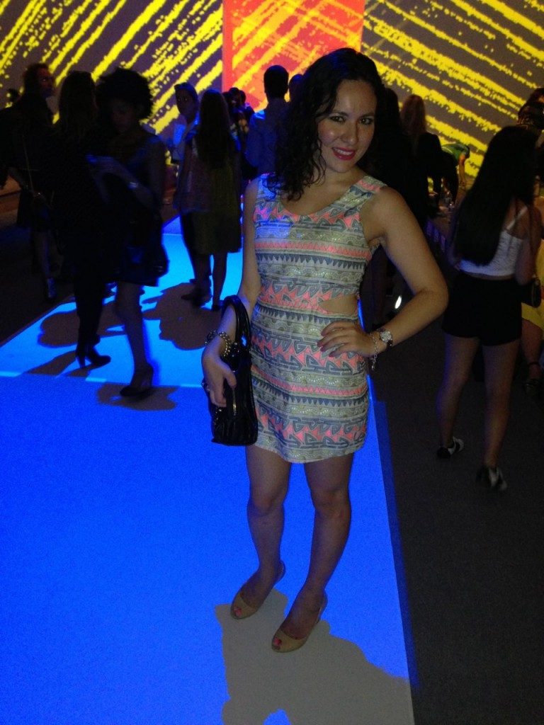 At New York Fashion Week Custo Barcelona Show Spring/Summer 2014 Collection at Lincoln Center