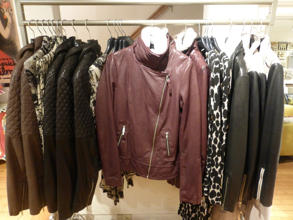 Mackage Leather jacket style winter fashion trends 2013