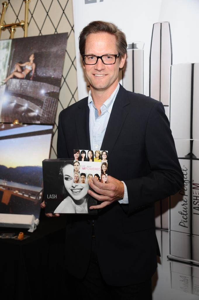 Matt Letscher of The Carrie Diaries during New York Fashion Week at the Empire Hotel GBK Celebrity Gifting lounge event.