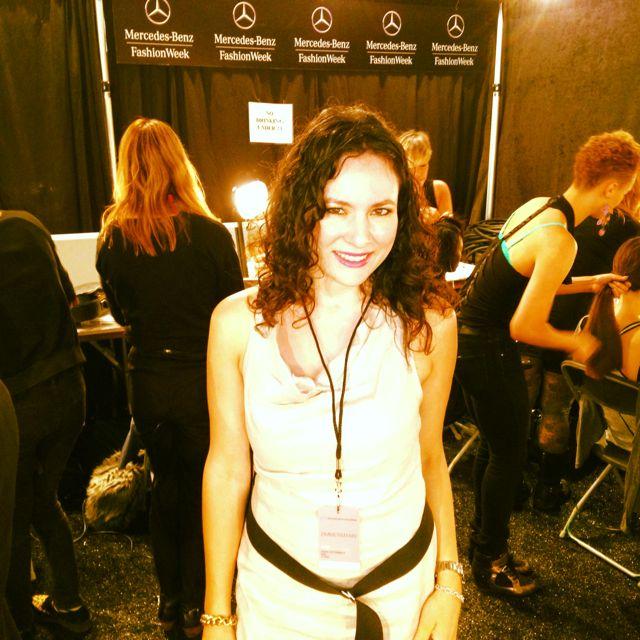 Mercedes Benz Fashion Week Backstage at Zimmermann Show NYFW