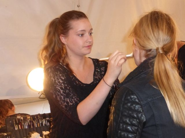 New York Fashion Week Runway Hair Trends Zimmermann long sleek ponytail rocks the runway