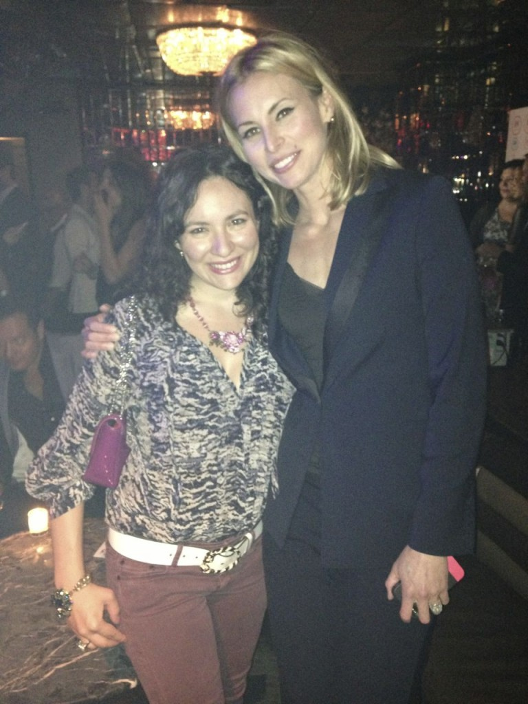 With Niki Taylor at OK Magazine Party at Lavo in Midtown. Great time was had by all.