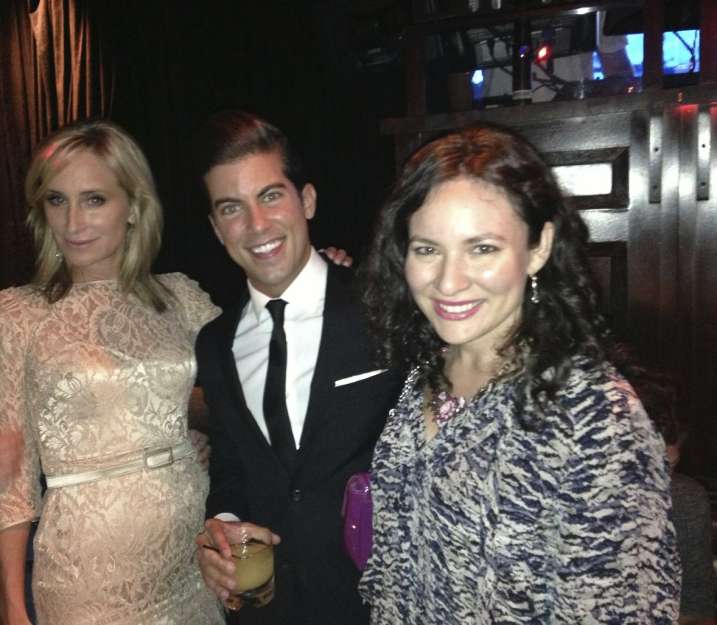 NYFW OK! Magazine OK! TV Launch Party at Lavo with New York Housewives Sonja Morgan and Million Dollar Listing Louis D. Ortiz at Lavo in Midtown.