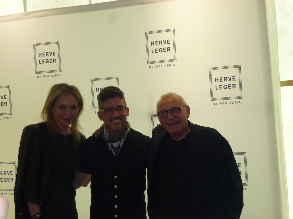 Lubov Azria and Max Azria speaking about the Herve Legar Barbie Doll Collection with Matel
