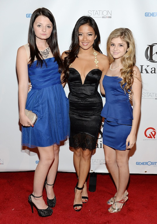 Crystal Jewelry by Kaiio celebrated their launch event in Hollywood with actress Dakota Hood and Isabella Palmieri