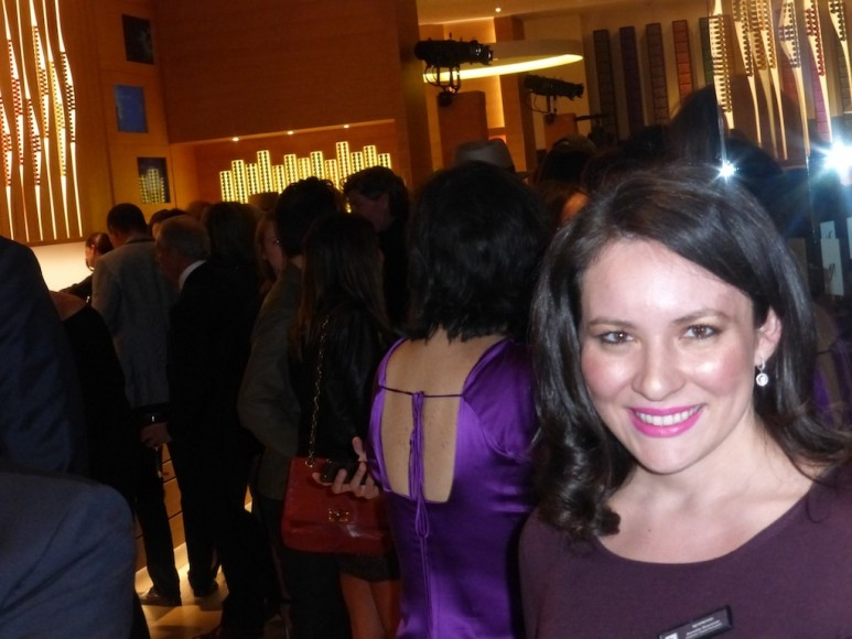 At the Nespresso Event Party in Beverly Hills Los Angeles
