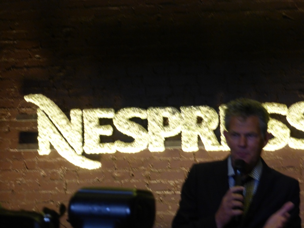 David Foster performing his songs at the Grand Opening Nespresso party in Los Angeles