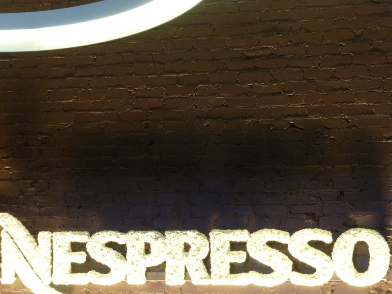 Nespresso cafe store in Beverly Hills grand opening party event