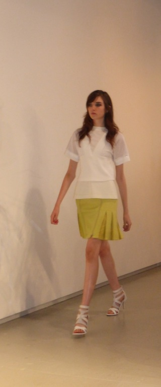 New York Fashion Week Rebecca Taylor Runway show Spring Summer 2014 fashion collection