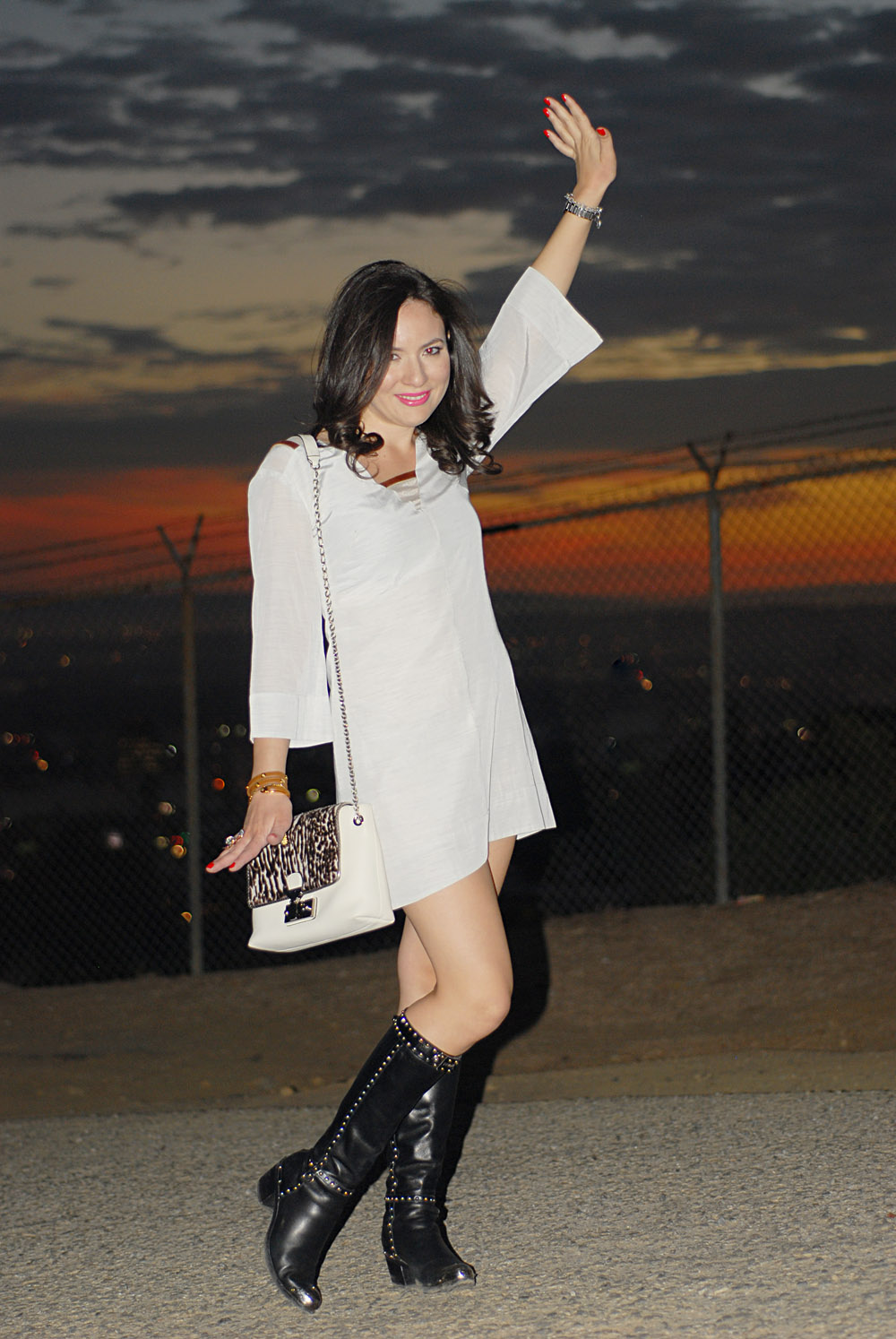 Winter White Fashion With a Marc Jacobs and Prada