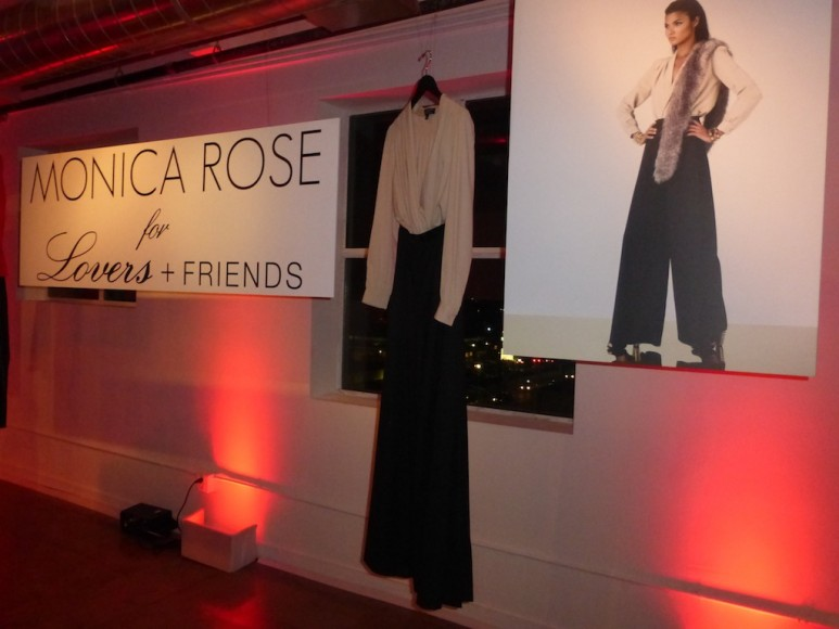 Monica Rose Launches Winter 2013 collection with Lovers and Friends