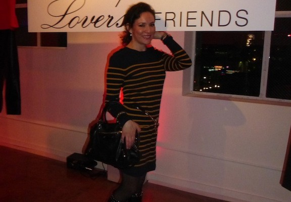 Lovers and Friends Winter 2013 collection party in Hollywood, CA