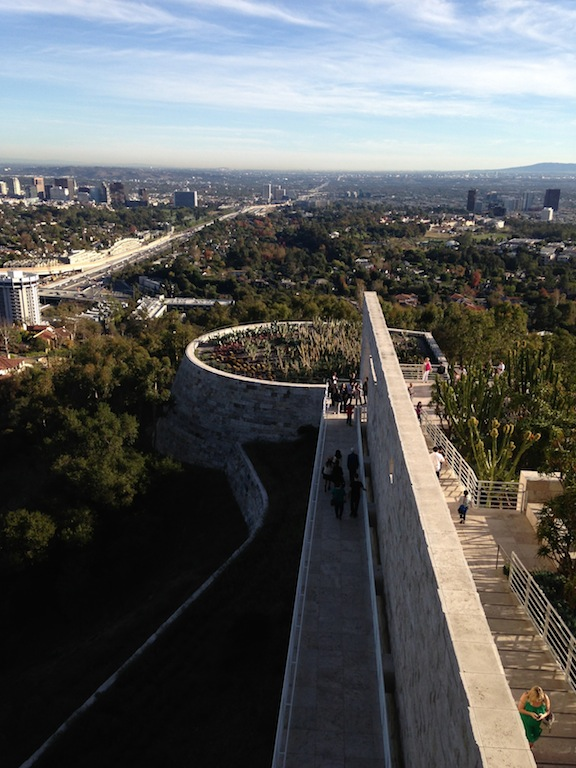Getty Center Fashion Trend Forward Photography of a Gorgeous winter LA day
