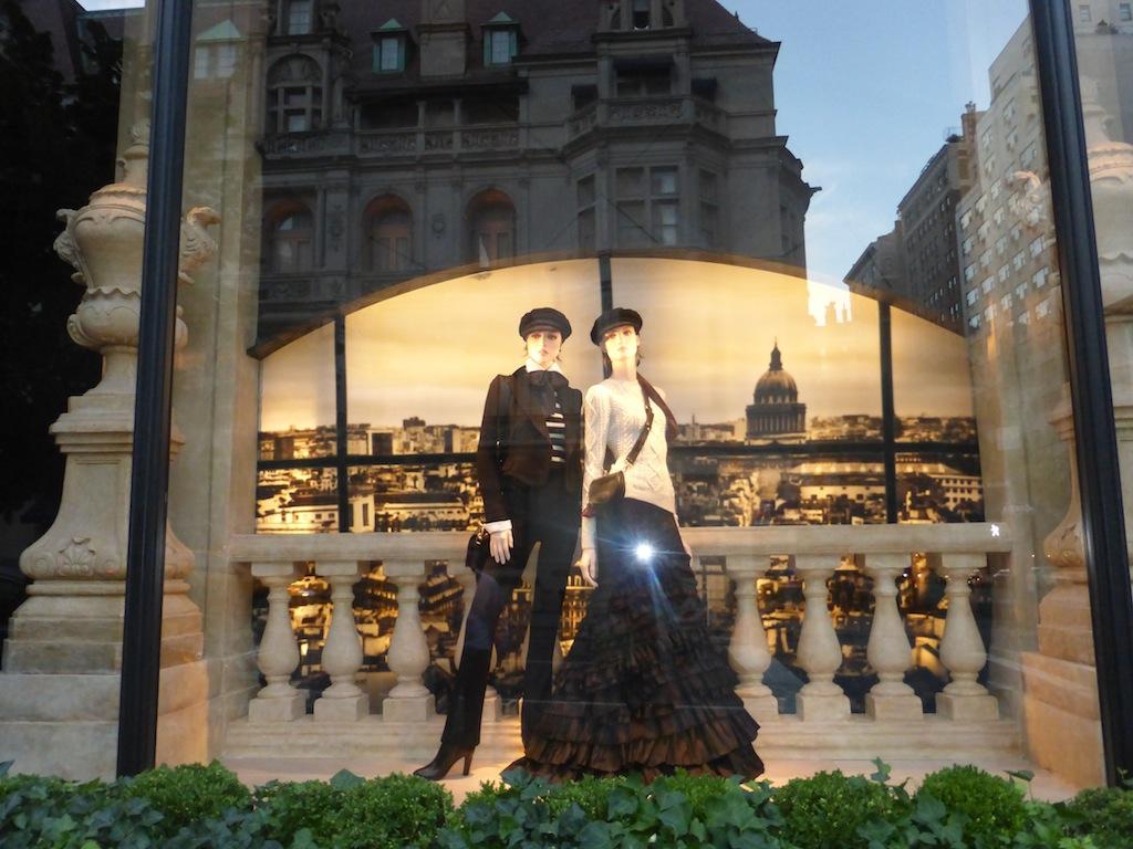 Ralph Lauren store in New York City Window Displays