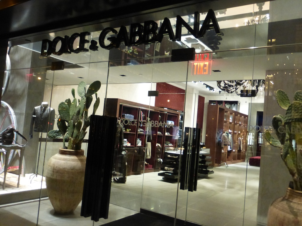Dolce & Gabbana Madison Avenue New York City Winter 2014 ready with hottest looks around town.