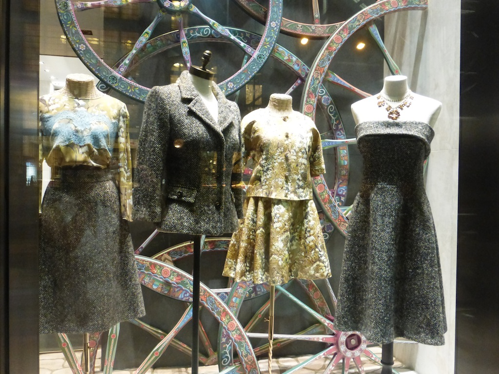 Dolce and Gabbana Tweed Winter 2014 Hottest Fashion Trends on Madison Ave.