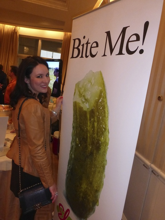 Elmars Kosher Pickle at The Peninsula Hotel Oh Canada Gifting Event