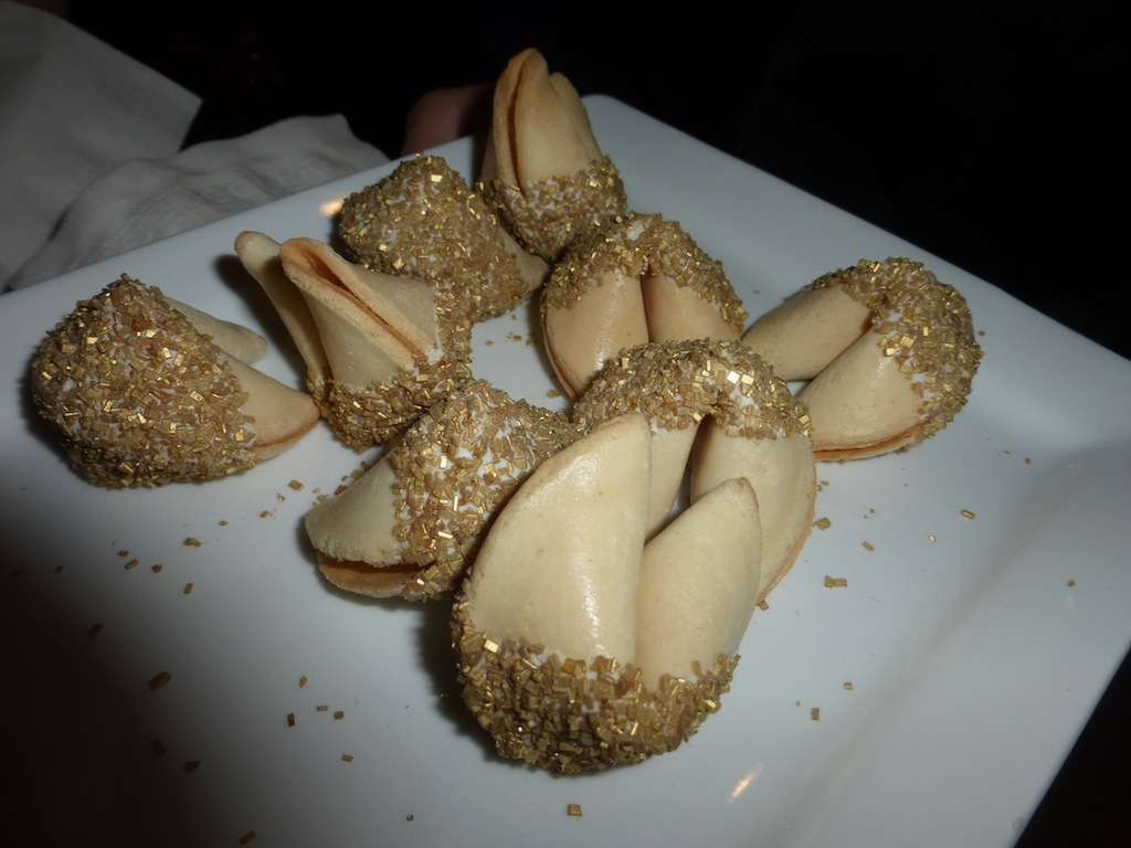 Fortune Cookie Gold Bridal Party Preview