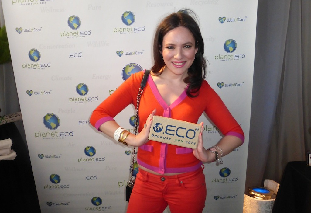 Planet Eco Because You Care Golden Globes Gift Lounge Event