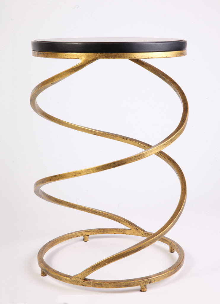 Fashion Trend Home with this Artistic Iron Side Table by Posh 365