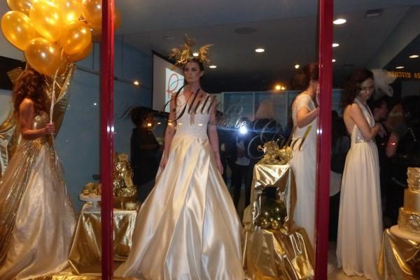 Wedding dress couture bridal collection preview Ventura Blvd