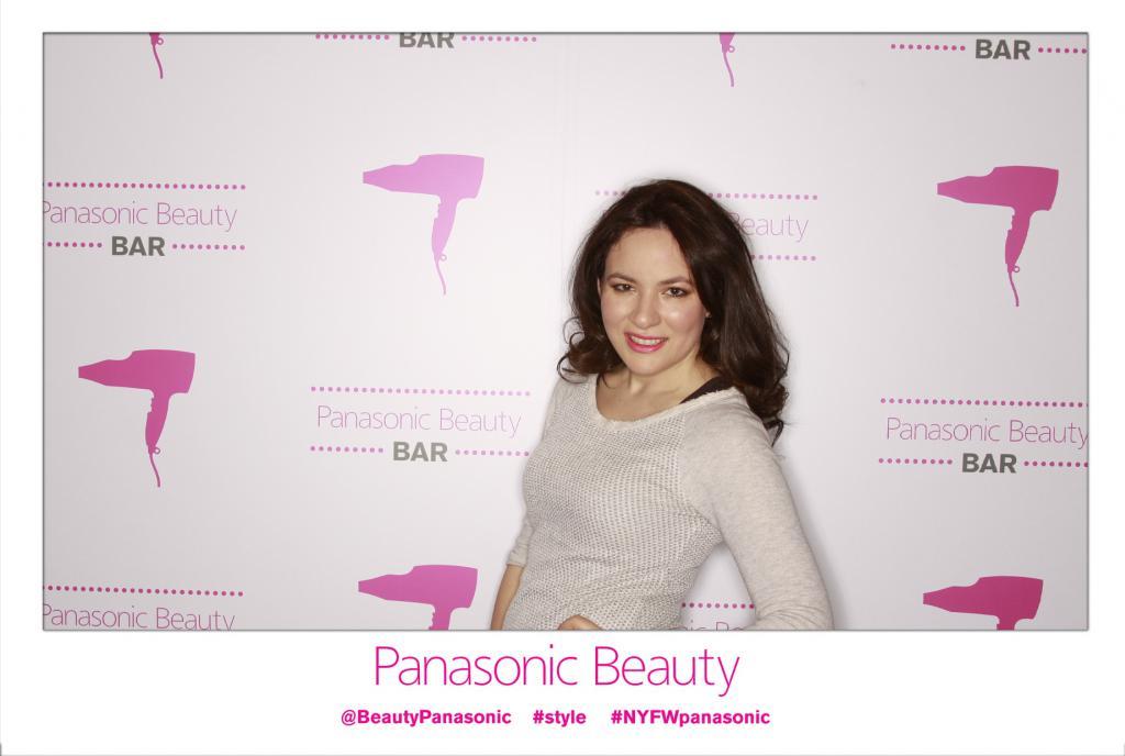 Panasonic Beauty Bar NYFW 2014 Hair Trends