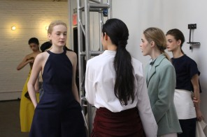 NYFW MAC Backstage Beauty Secrets With Lyne Desnoyers at Rosie Assoulin