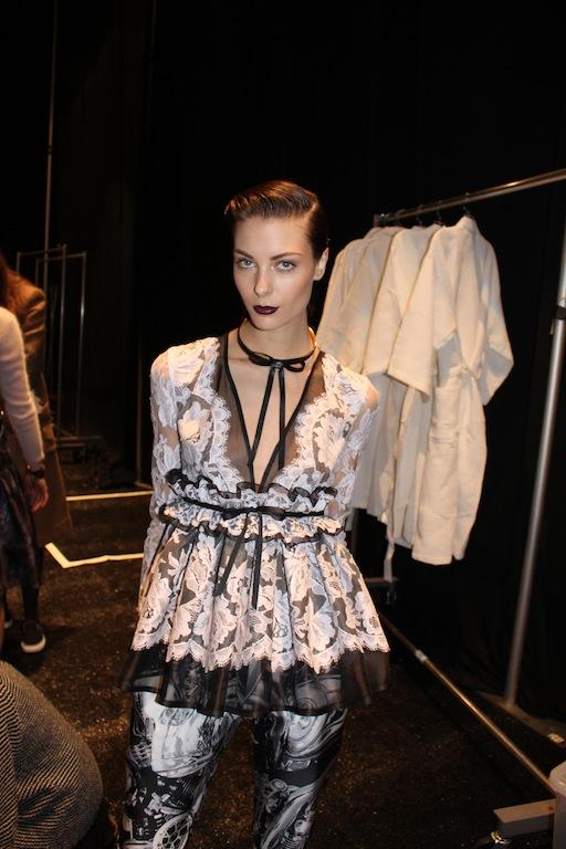 Backstage With Australian Designers Zimmermann New York Fashion Week Winter 2014 Fashion Trend Forward