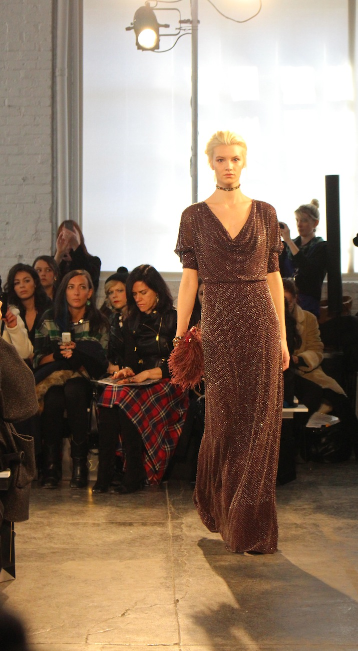 Jenny Packham Evening dresses New York Fashion Week 2014