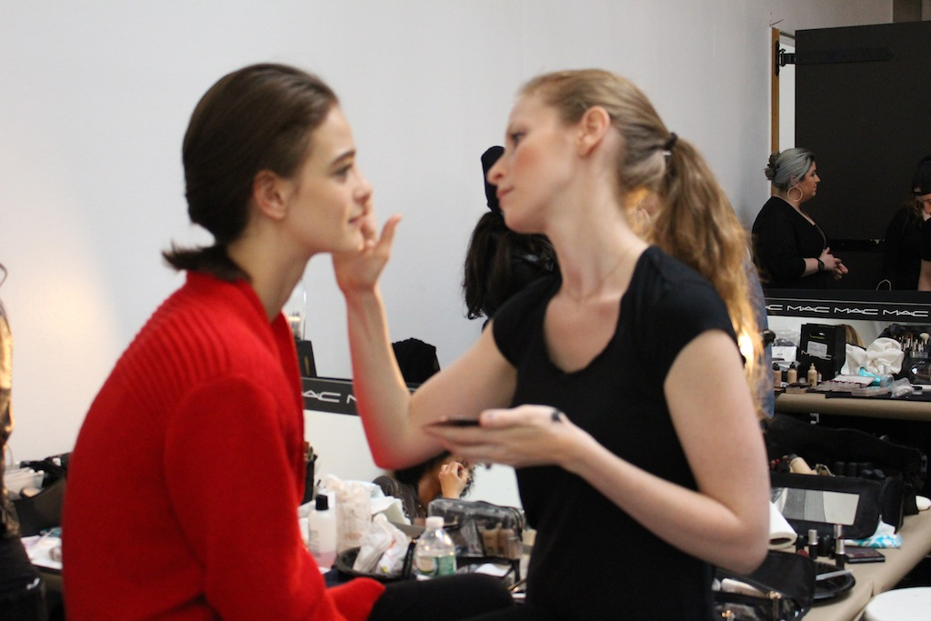 MAC Backstage at NYFW Rosie Assoulin Presentation Beauty Secrets Revealed