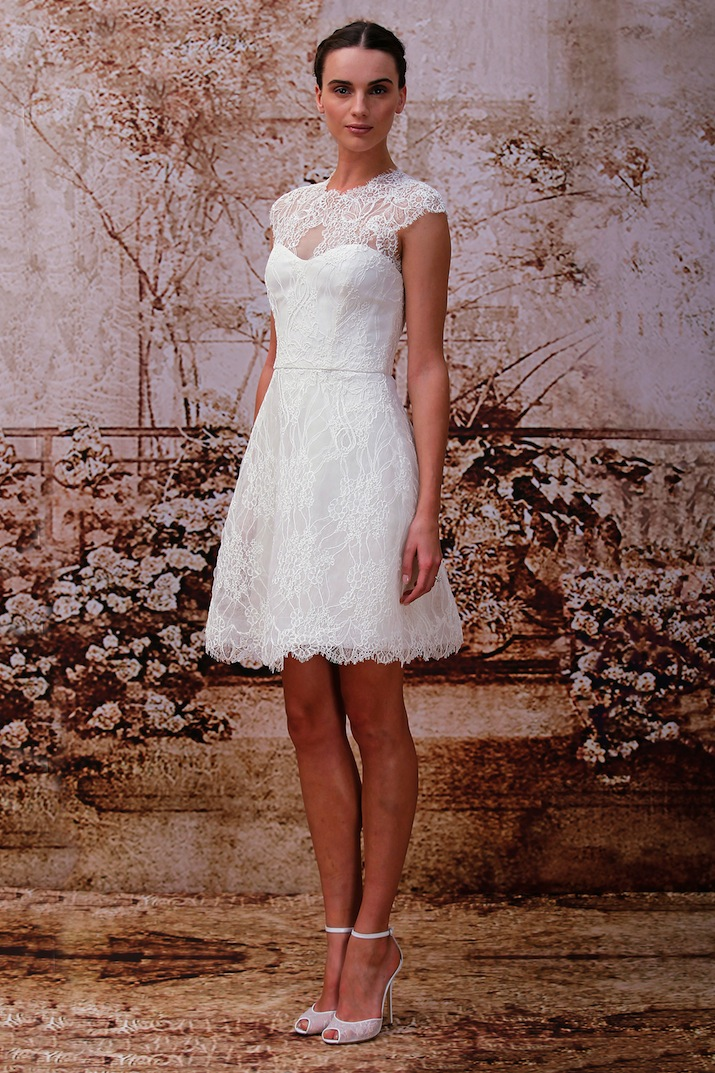 Short and Sweet wedding dress trends 2014