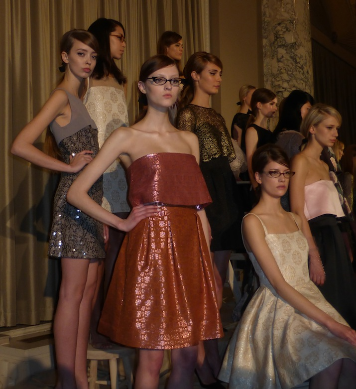 Erin Fetherston NYFW Winter 2014 flirty style trends and organza dresses
