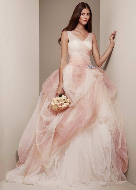 Pink Wedding Dresses David S Bridal : Pink david s bridal dress