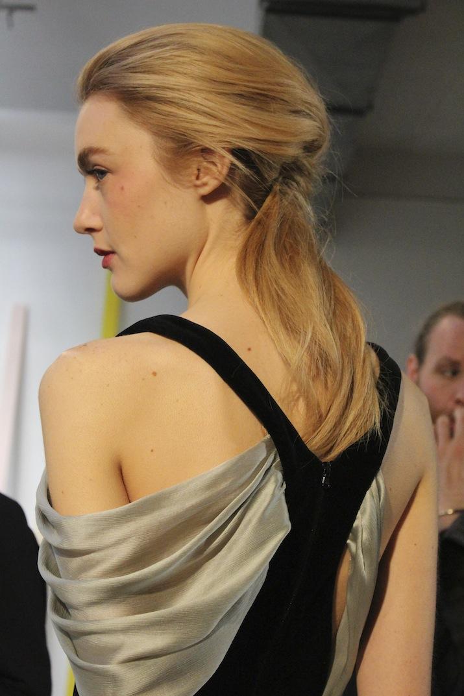 Rosie Assoulin MAC Beauty Backstage NYFW Makeup Trends 2014