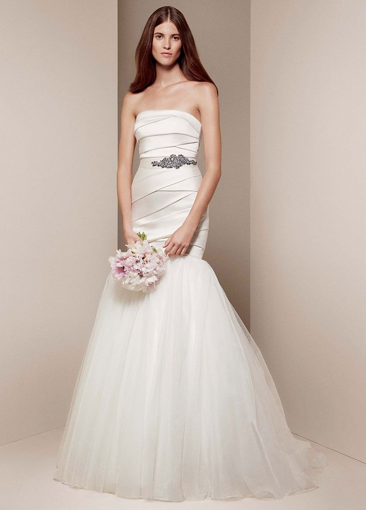 Fabulous Wedding Dresses Vera Wang Mikado at David's Bridal