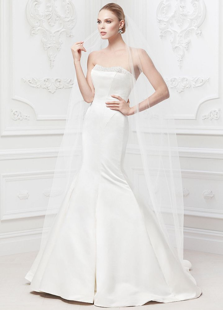 David's Bridal Dress Trends Zac Posen dress trends 2014