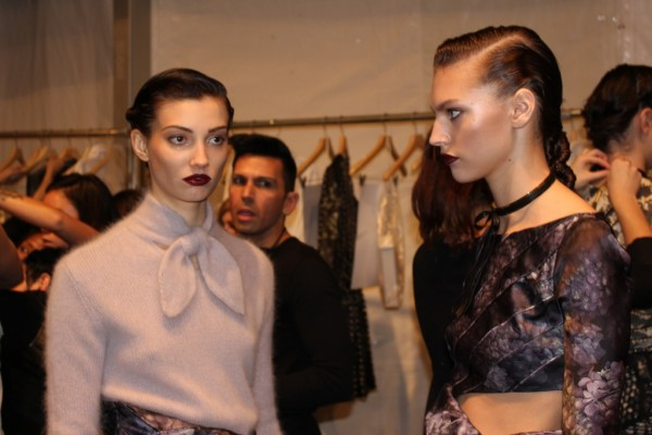 New York Fashion Week backstage with Zimmermann Fashion