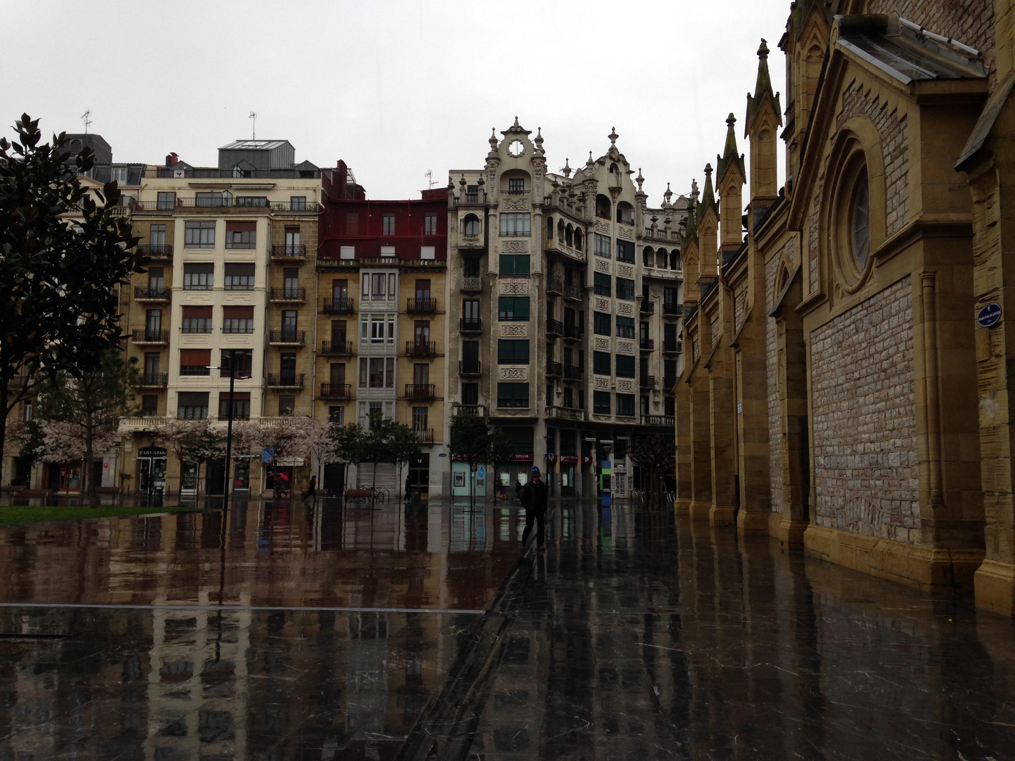 Amazing Views of San Sebastian in the Gorgeous Rain