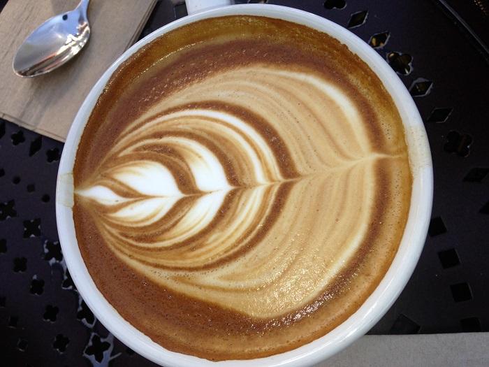 Morning Breakfast latte trends art