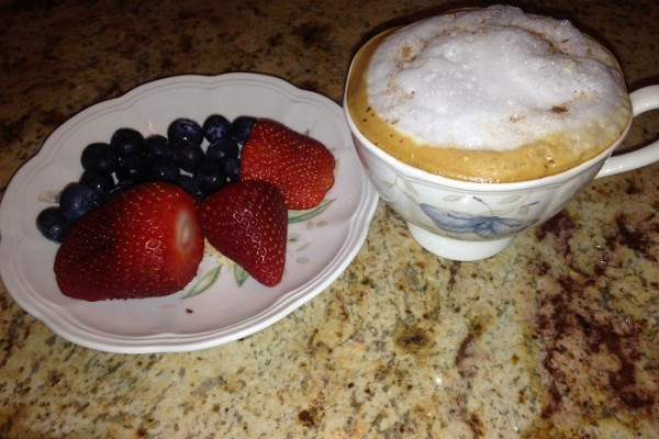 Morning Breakfast trends Fruits Protein and Coffee