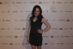 Needle & Thread Red Carpet Fashion at The OK Magazine Oscar Party Festivities