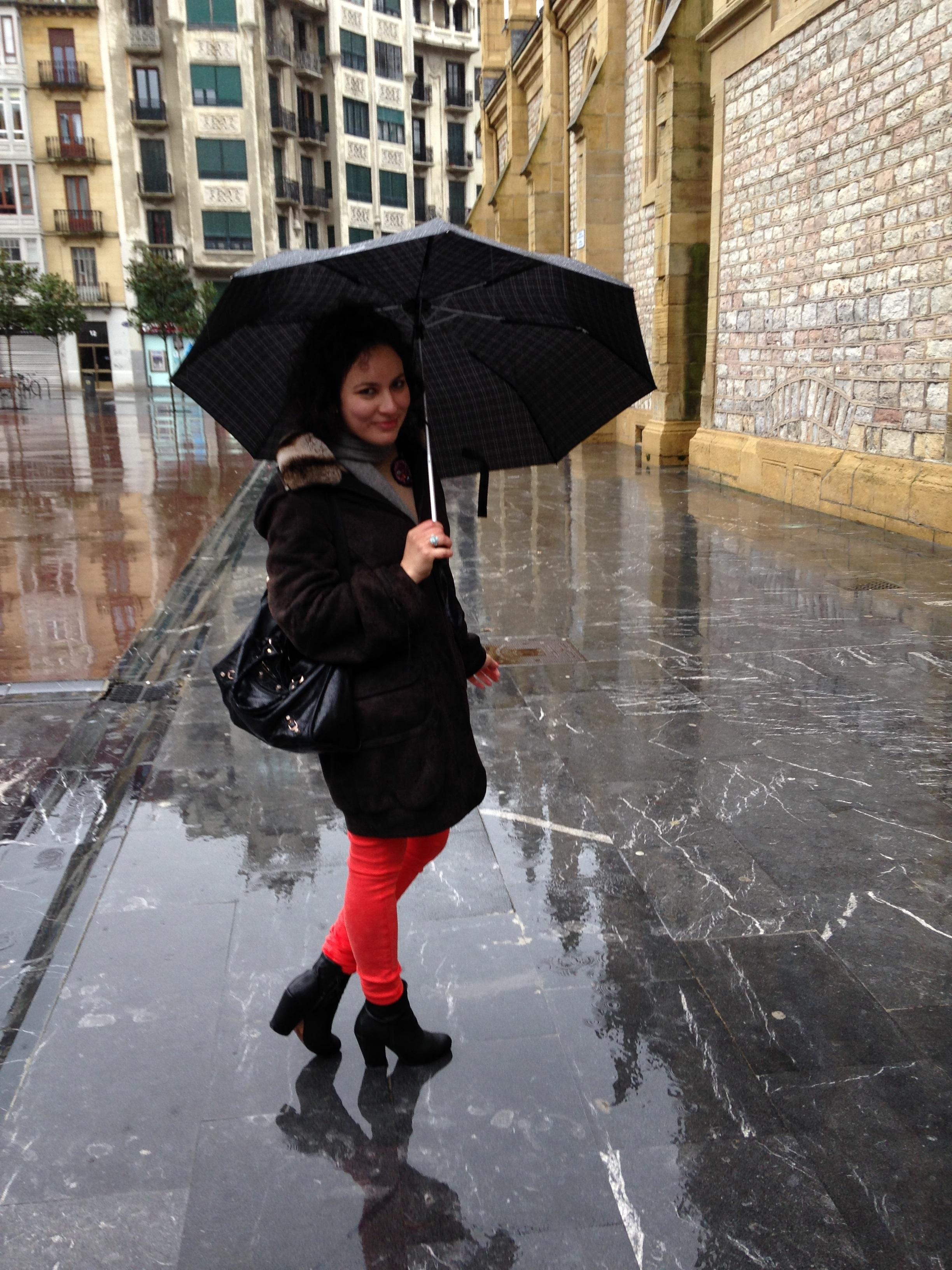 Rainy Northern Spain San Sebastian Style Trend Denim of Virtue Jeans