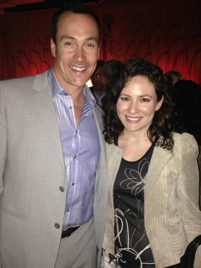 Authors Anonymous Movie Premier in Westwood with Chris Klein