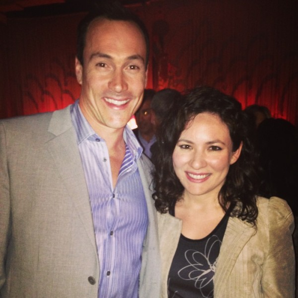 Authors Anonymous World Premiere with Chris Klein after the film