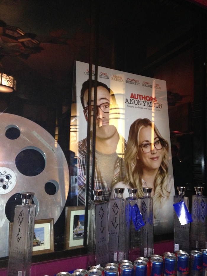 Aviv Vodka From Israel Sponsors the movie premier of Authors Anonymous
